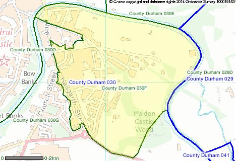 Area 030F